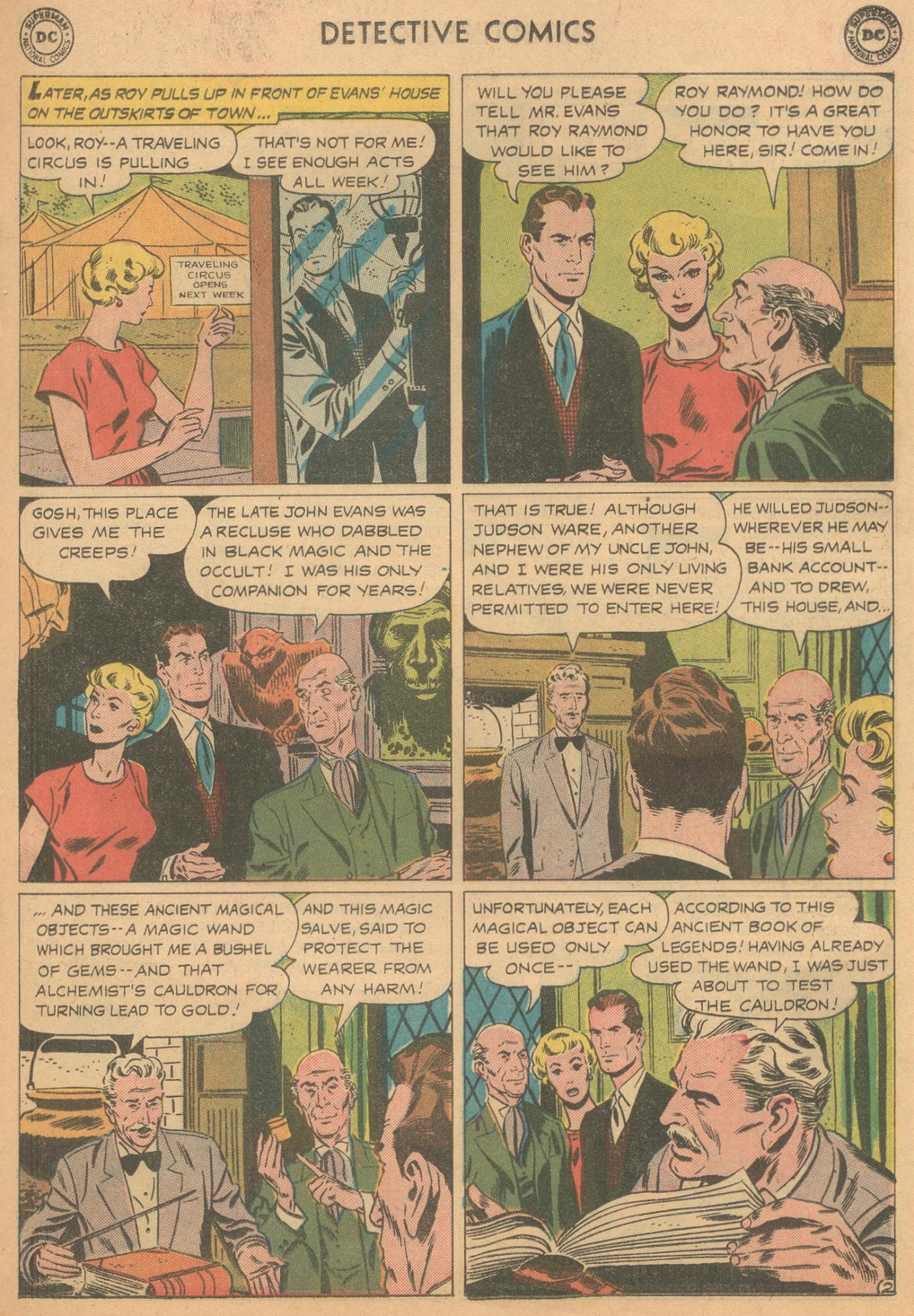 Read online Detective Comics (1937) comic -  Issue #261 - 19