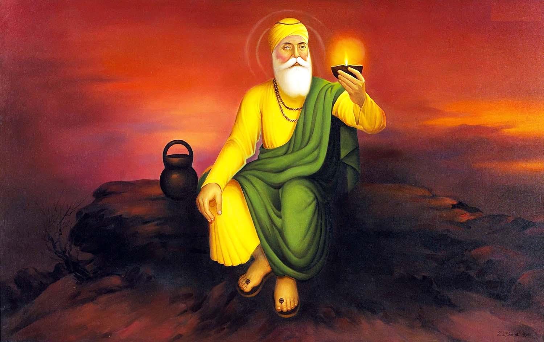 guru nanak dev ji original photo
