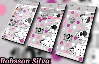 101 Dalmatians Theme For Fouad WhatsApp & YOWhatsApp By Robson