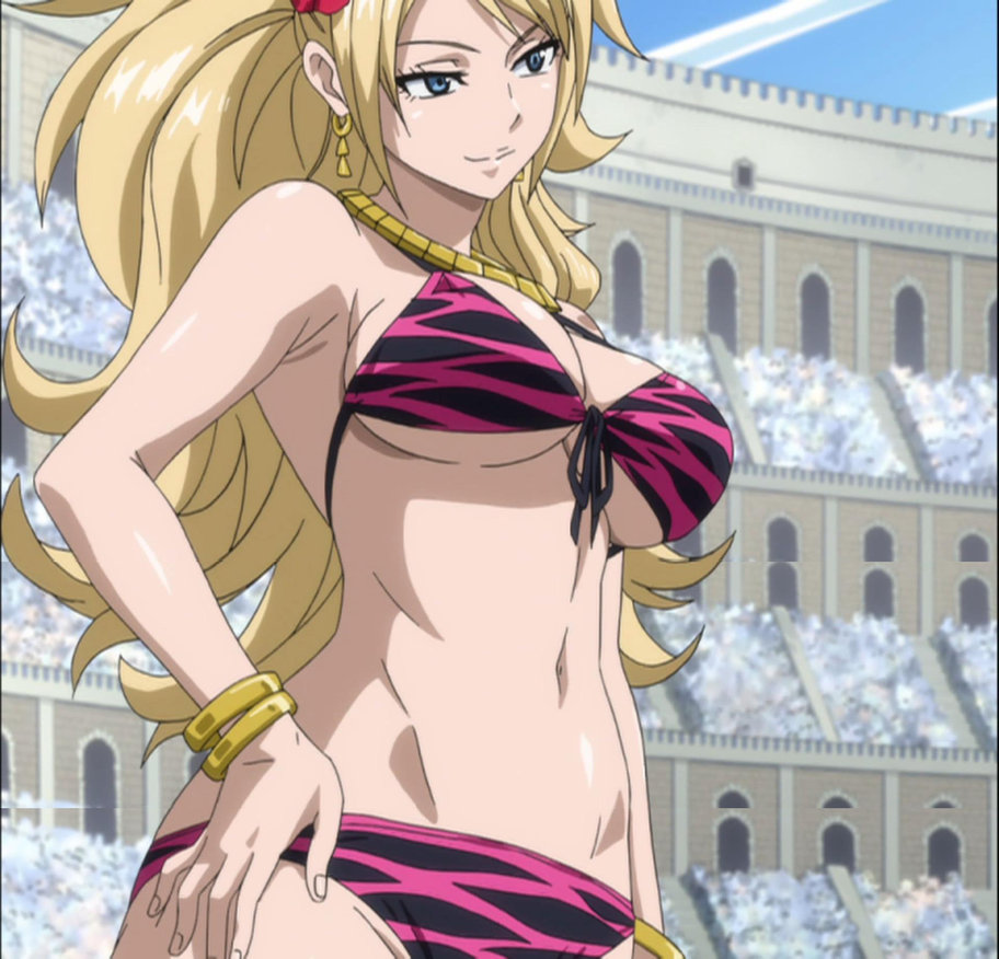 fairy tail girls bikini