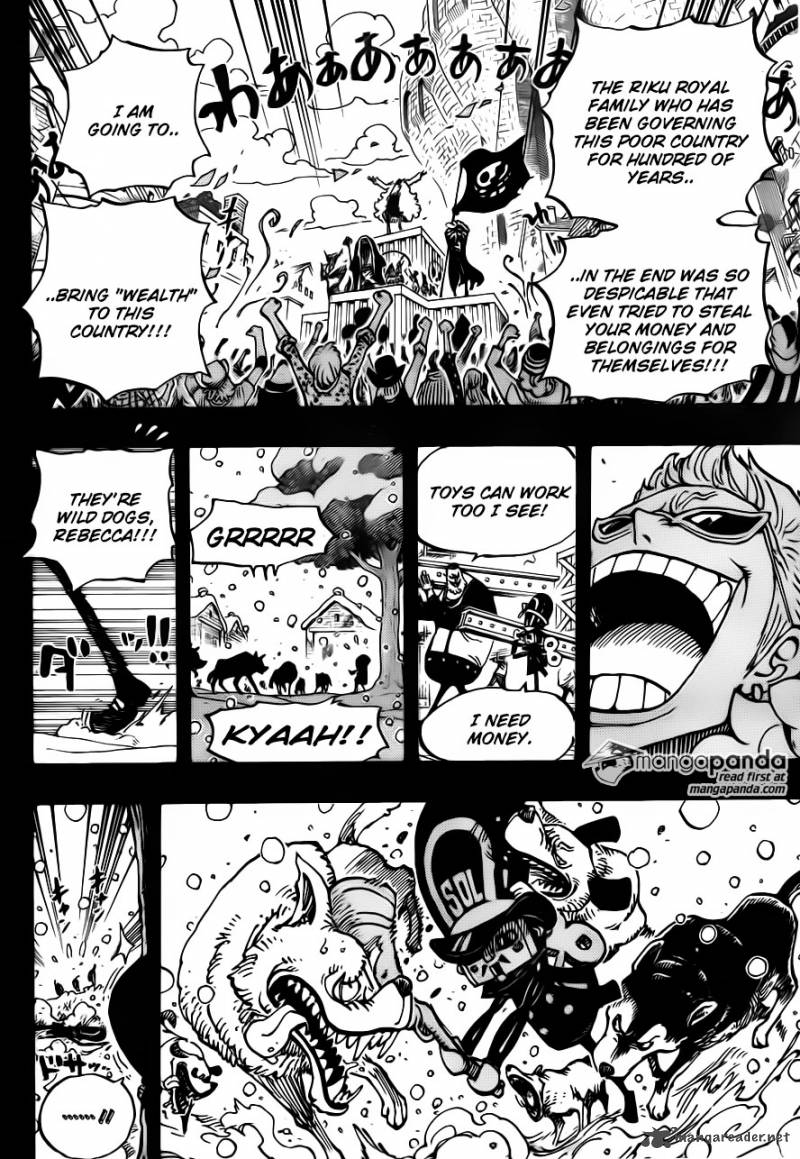One Piece Ch 721: Rebecca And Soldier-san