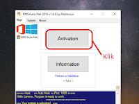 Cara Activation Windows 10 Menggunakan KMSauto net