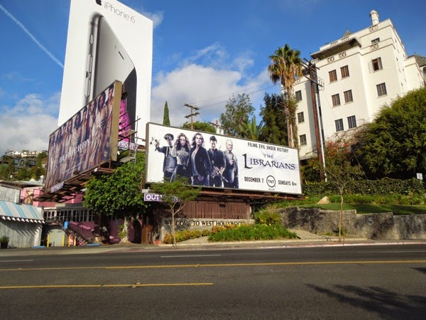 The Librarians season 1 billboard