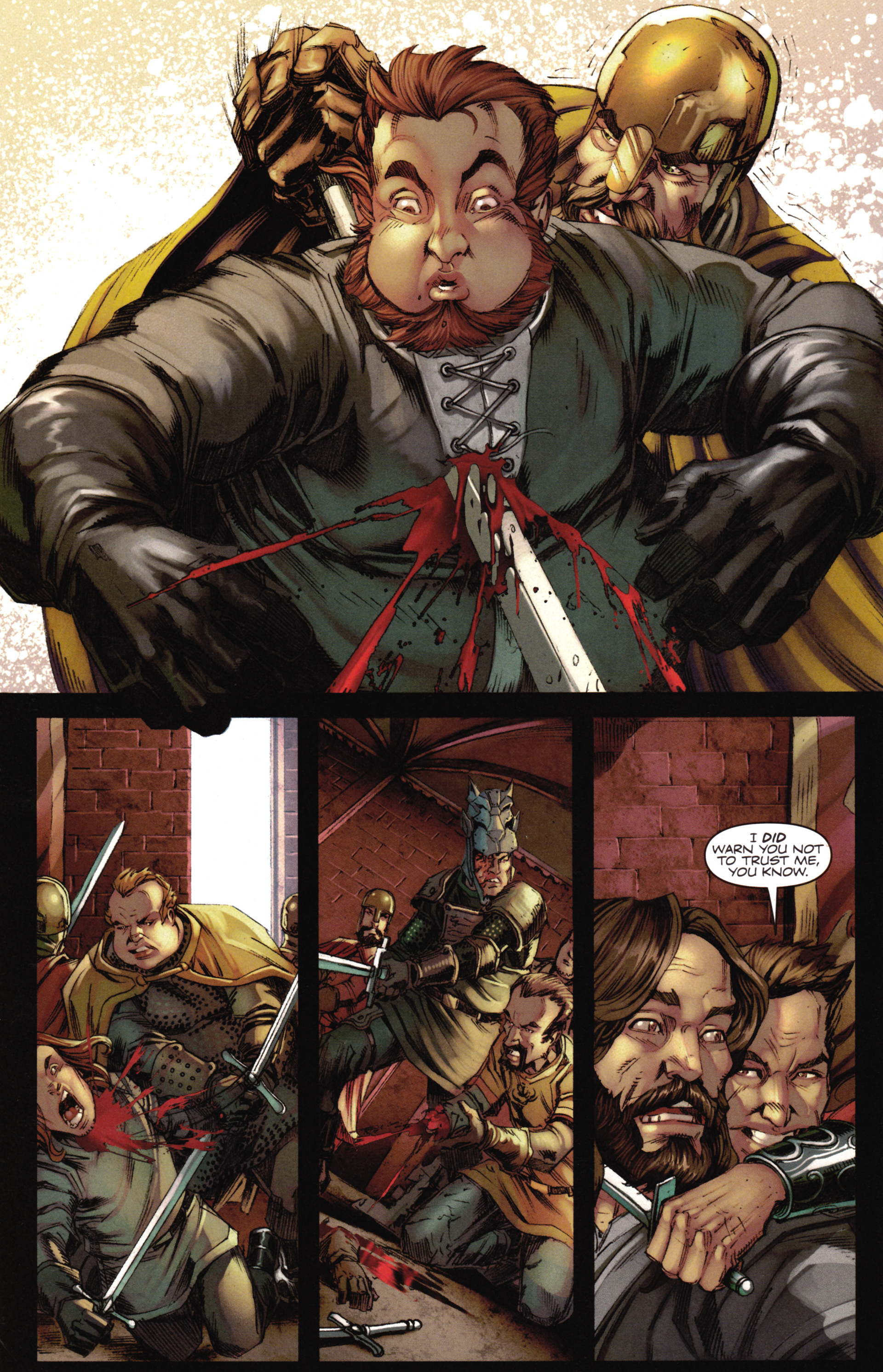 Read online A Game Of Thrones comic -  Issue #16 - 12