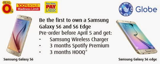 BPI Credit Card: Experience the best Samsung Galaxy S6 and Samsung Galaxy S6 edge