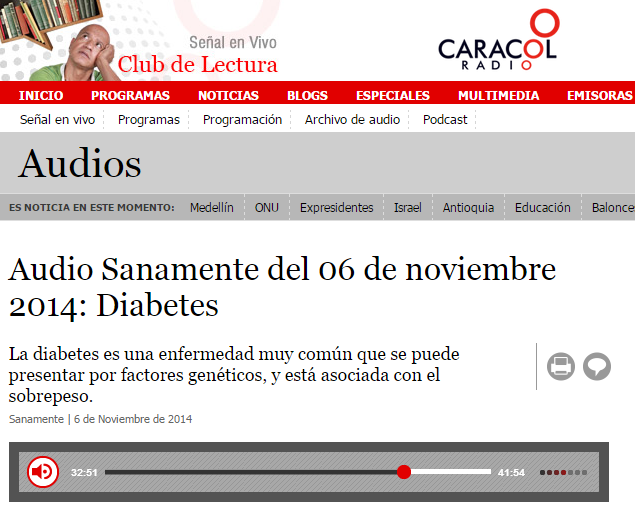 Difundiendo la diabetes tipo 1 - Prensa - Blog Diabético