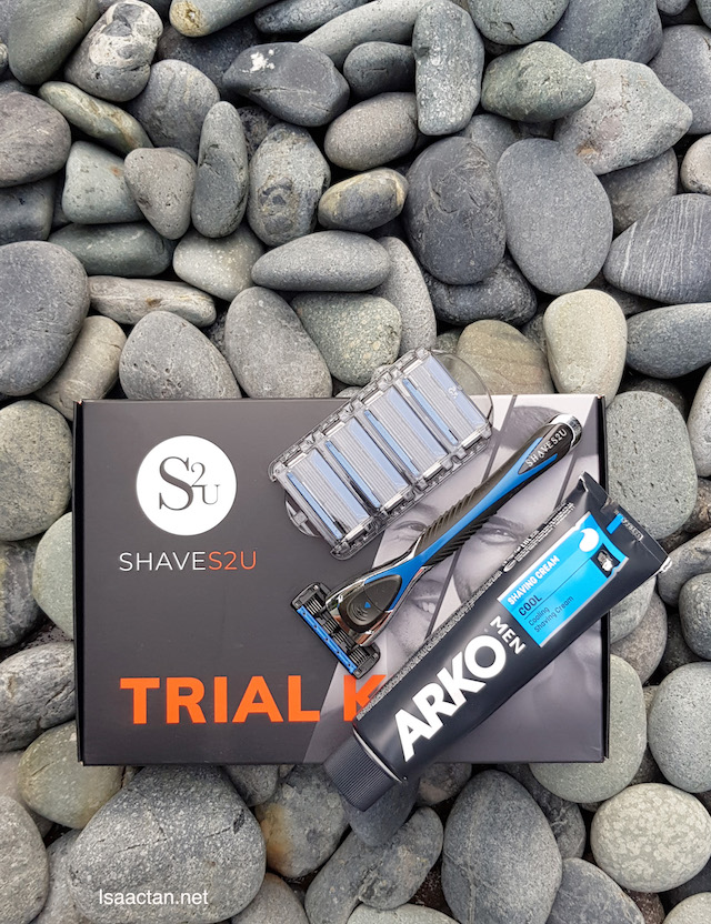 Shaves2U Starter Pack - Get It FREE Today!