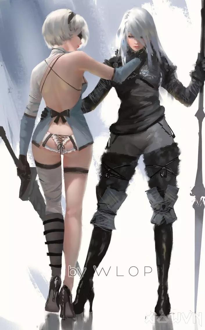 23 AowVN.org m - [ Hình Nền ] Anime Cực Đẹp by Wlop | Wallpaper Premium / Update