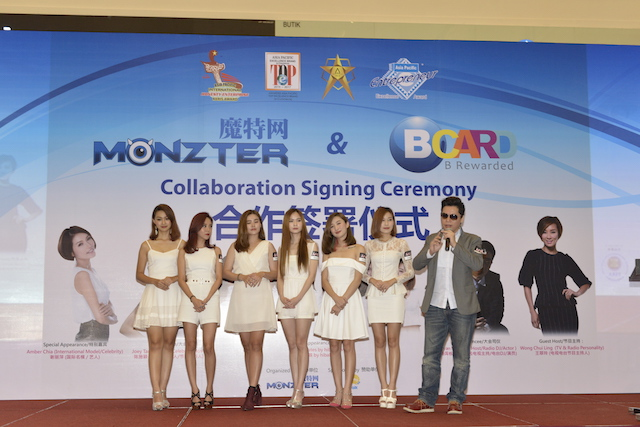 Special group celebrity Mermates from HiBaby.tv at the event