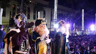 Horario e Itinerario de la Cabalgata de los Reyes Magos de El Ejido (Almería) 2019