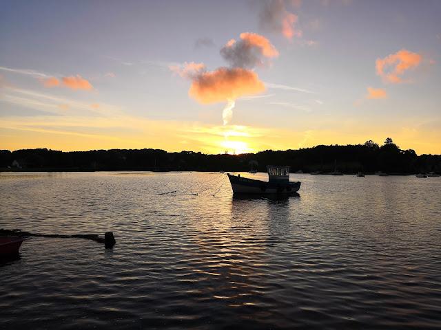 Puesta de sol Bretagne