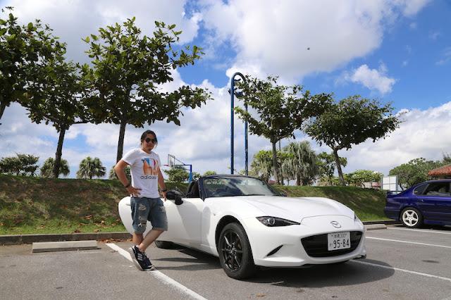 日本沖繩租車 MADZA MX-5 Roadster 雙座敞篷跑車
