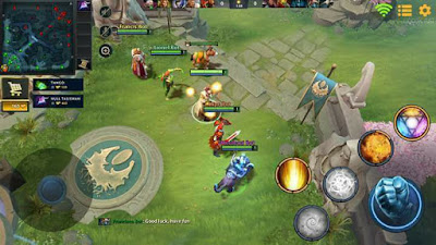 Main Game Dota 2 di Smartphone Android