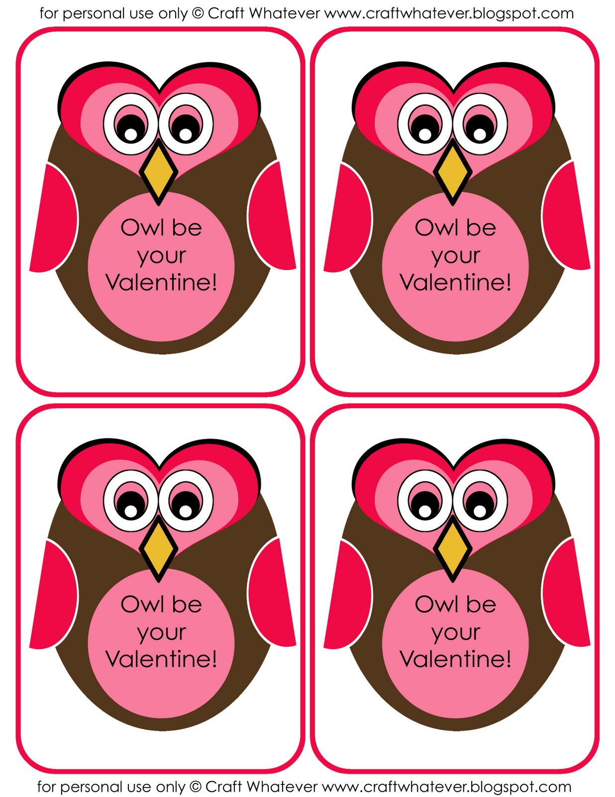 Craft Whatever Free Valentine S Day Printables