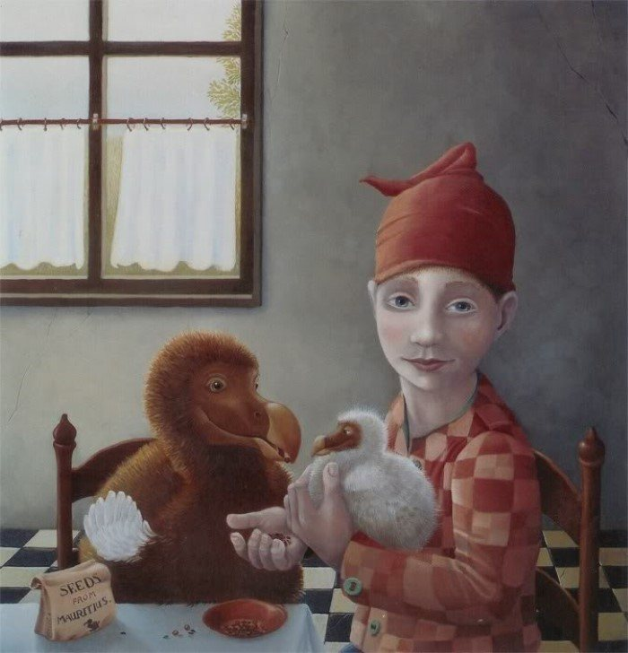 Животные и люди. Suzan Visser