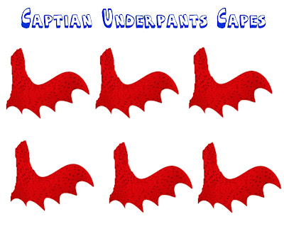 Captain Underpants birthday party games