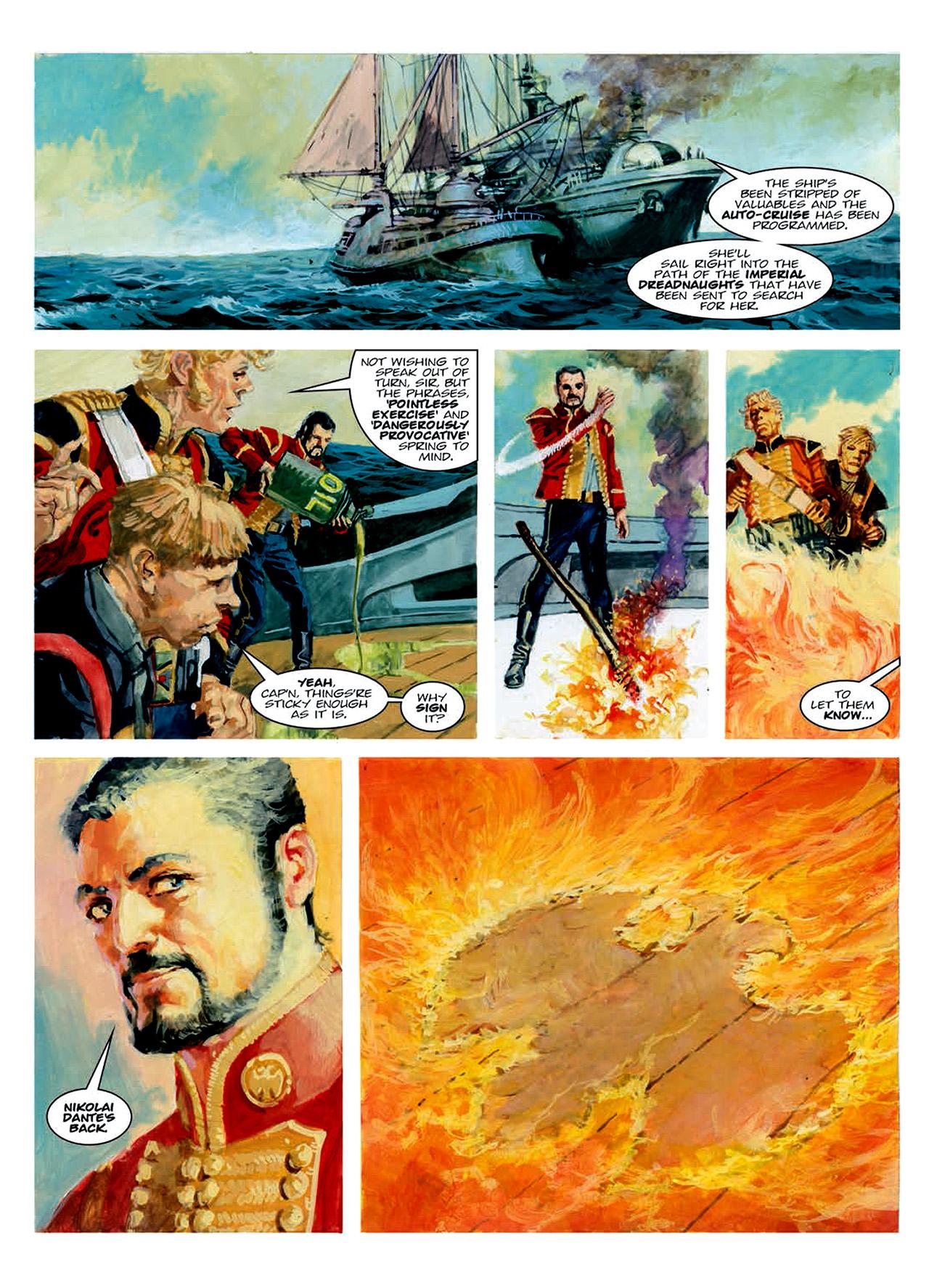 Read online Nikolai Dante comic -  Issue # TPB 6 - 149