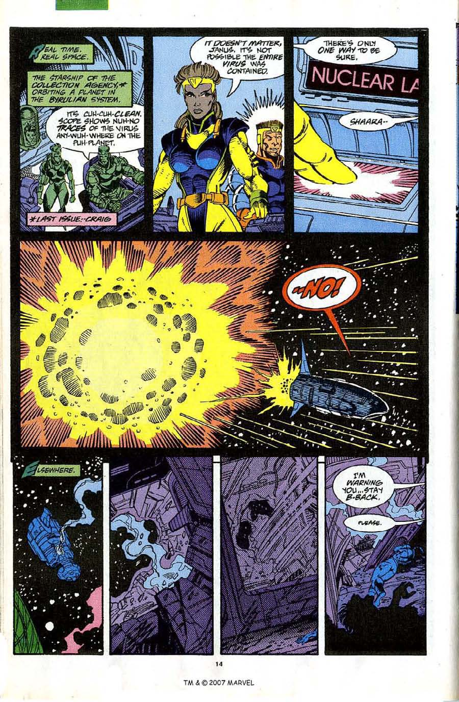 Read online Silver Surfer (1987) comic -  Issue #63 - 16
