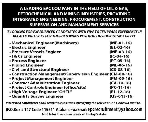 شركة البتروكيماويات المصرية