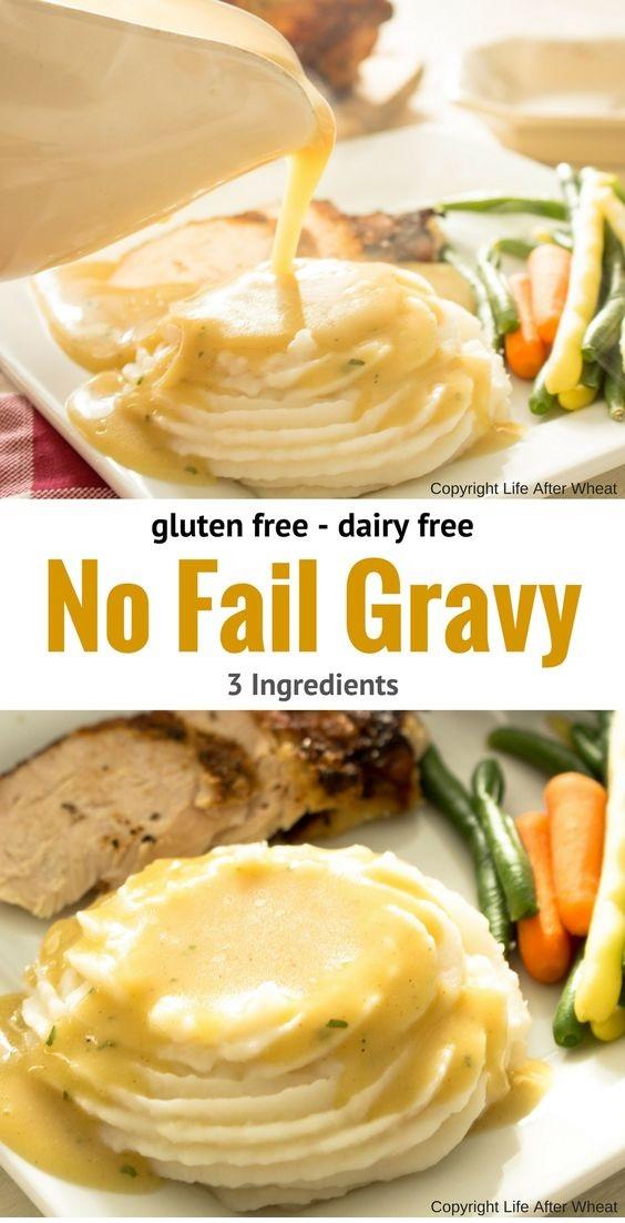 Easy Gluten Free Gravy Recipe (also Dairy Free)