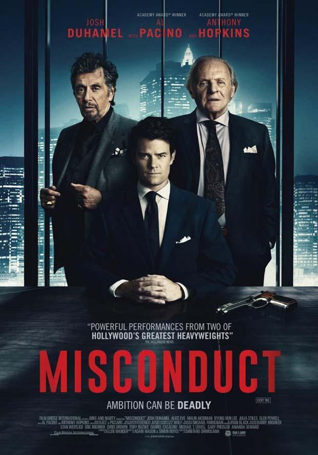 مشاهدة  فيلم Misconduct مترجم مباشر اون لاين