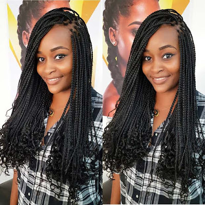 Looking for a new and trendy braided style 33 Latest Lemonade Braids Hairstyles To Copy