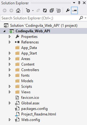 Asp.net MVC project structure