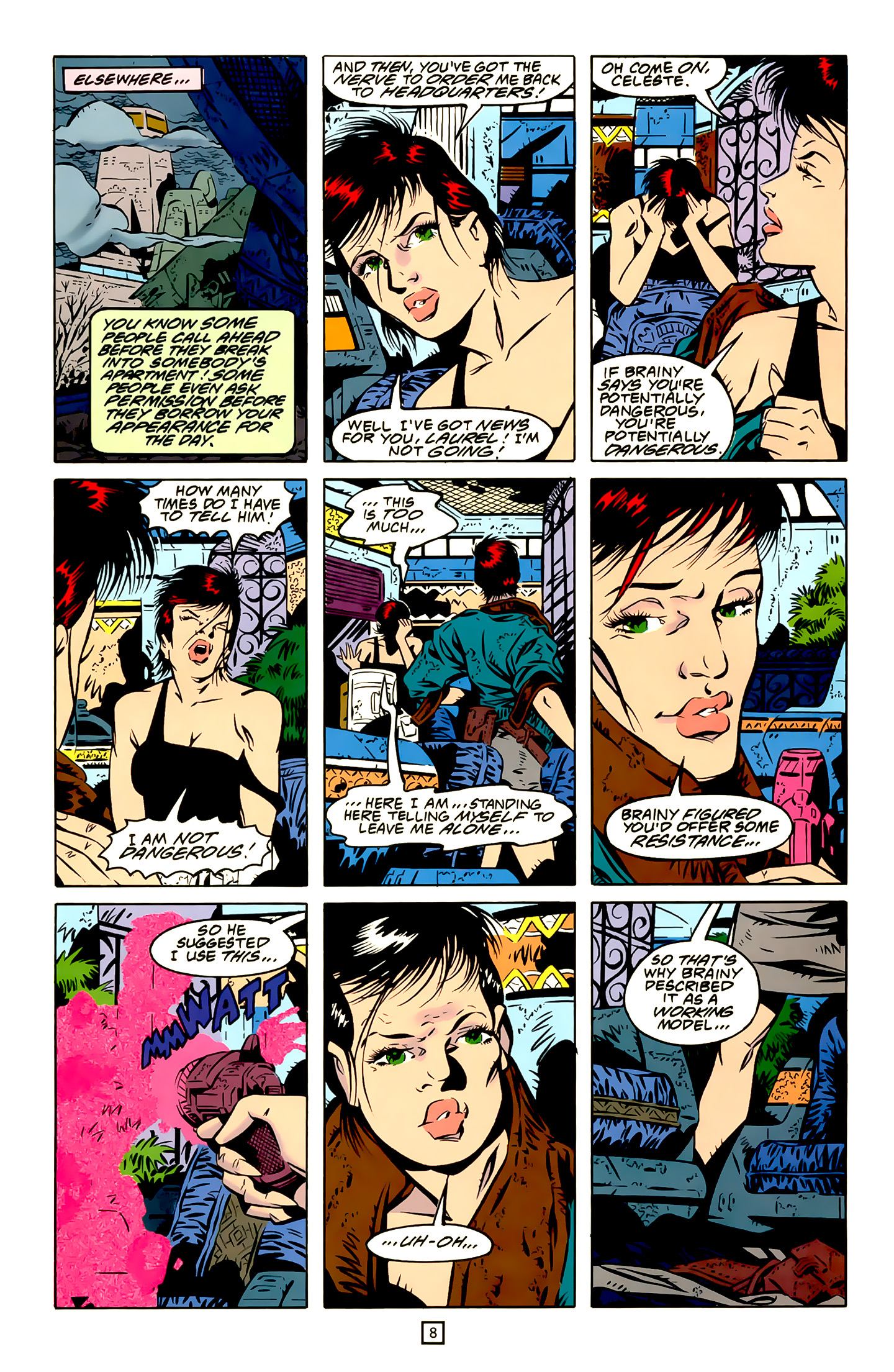 Legion of Super-Heroes (1989) 20 Page 8