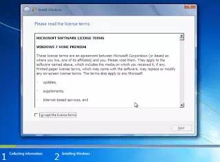 license of windows 7 in hindi