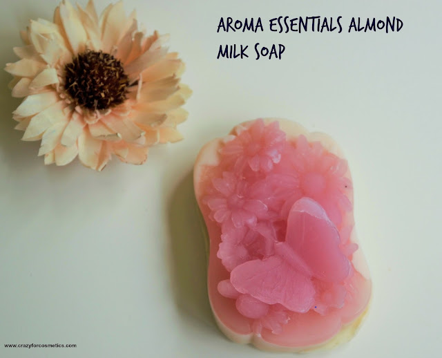 Aroma Essentials Almond Milk & Calamine Soap Review
