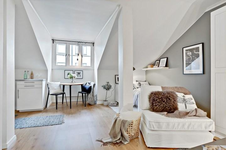 un piso de alquiler con mucho estilo en tan slo 20m2