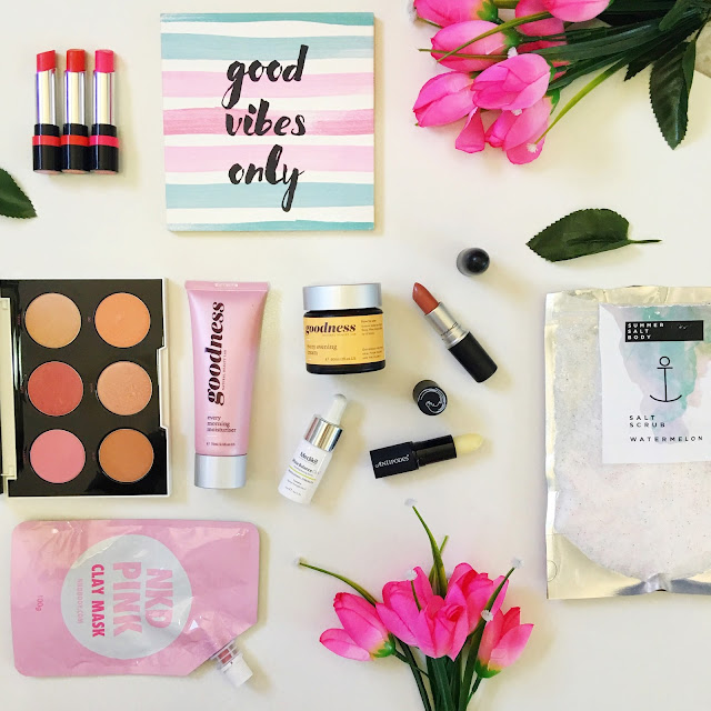 March Favoiurites Flatlay