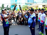 Wali kota Lepas Kirab Api Obor Asian Para Games