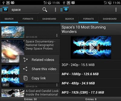 Aplikasi download video youtube Android - youtube downloader