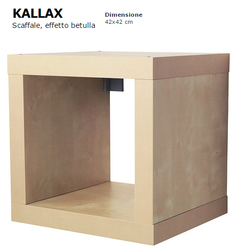 Ikeahackers and eket home shaped - Ikea libreria kallax ...
