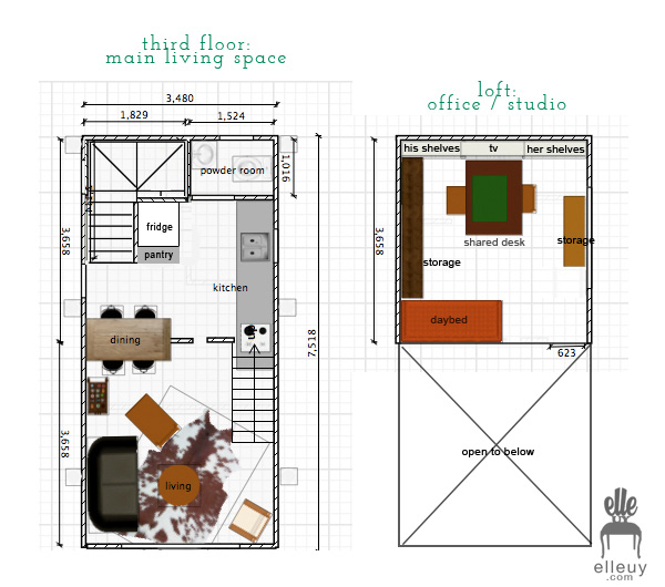 Decor me Happy by Elle Uy Tiny House Renovation The Kitchen Plans – Tiny House Floor Plan Maker