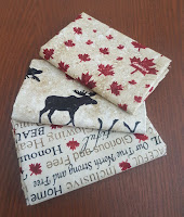 Canada 150 fabric as prizes