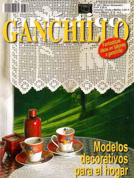 GANCHILLO ARTISTICO Nº 332