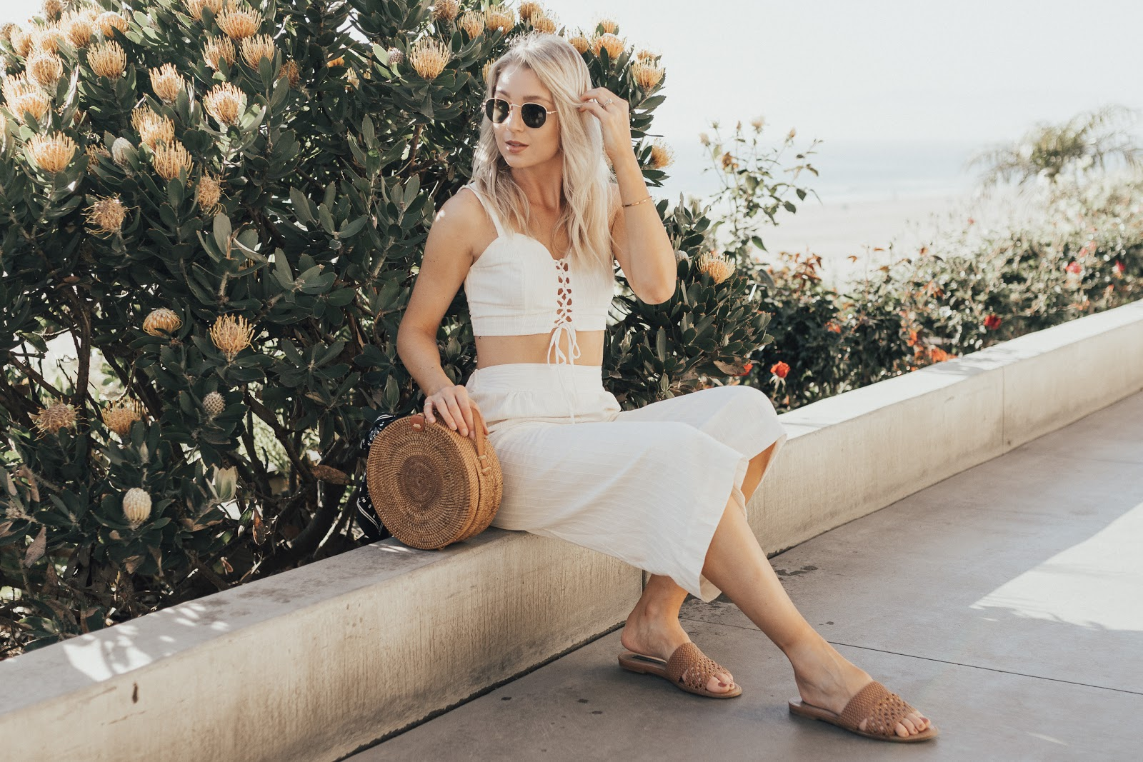 beachside outfit | Love, Lenore