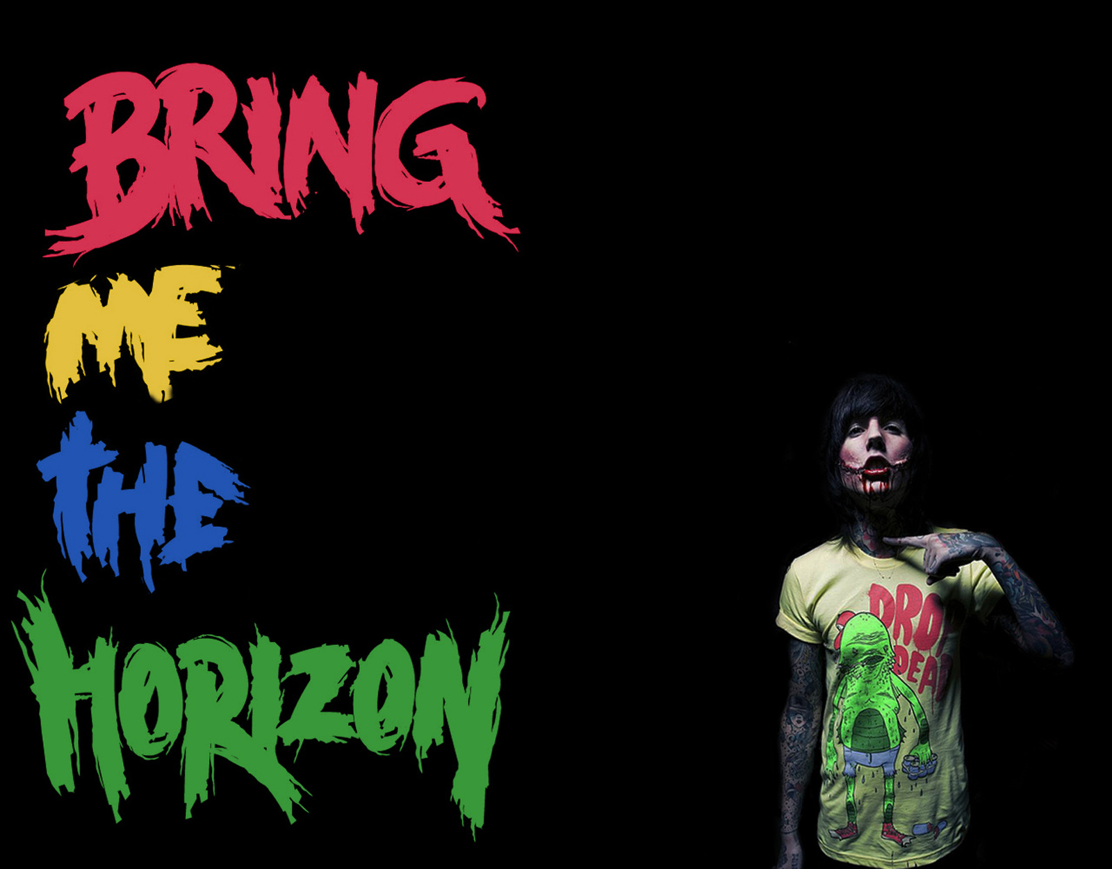 Central Wallpaper: Bring Me The Horizon (BMTH) HD Wallpapers