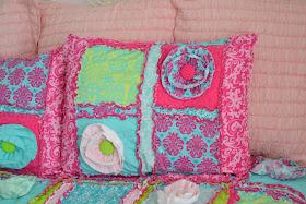 Starndard Size Pillow Sham-Rag Quilt