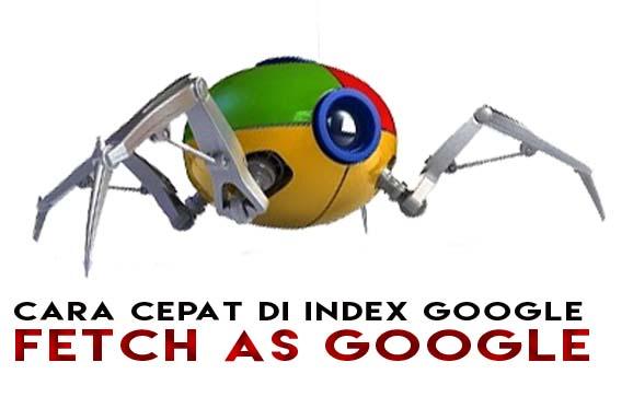 Cara Artikel di Index Google dengan Cepat