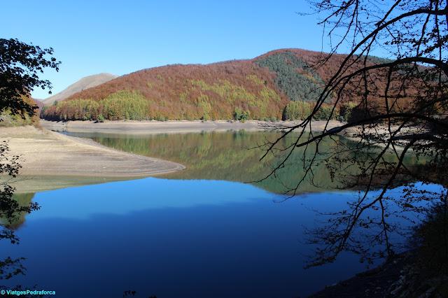 Pirineu de Navarra, colors de tardor, excursionisme