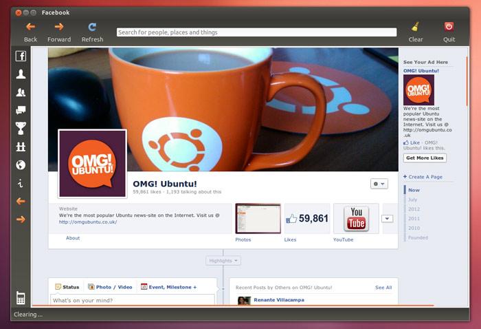 facebook chat download for ubuntu