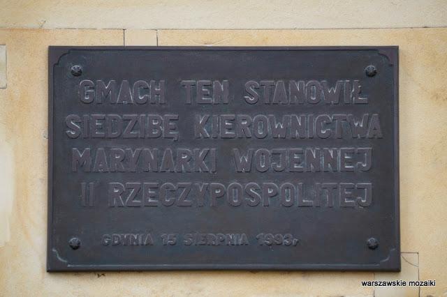 tablica Warszawa Warsaw Żwirki i Wigury Rudolf Świerczyński Stefan Bryła modernizm