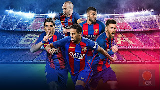 PES 2018 FC Barcelona Cover