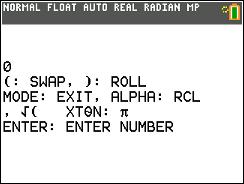 Eddie's Math and Calculator Blog: TI-84 Plus CE: Basic RPN