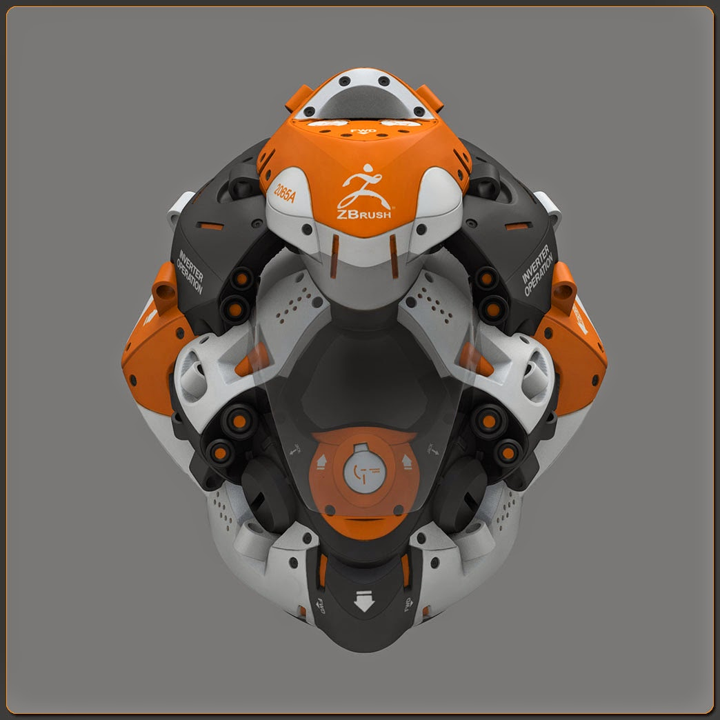 The Air Combat Tutorial Library: Zbrush Tutorial: Helmet Design With