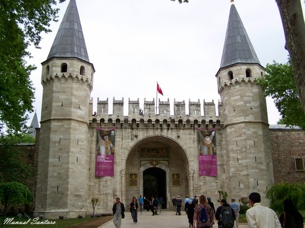 Istanbul, Topkapi, Porta Imperiale