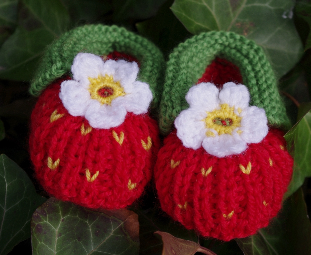Sannis Sockenkiste Erdbeeren Neue Babyschuhe